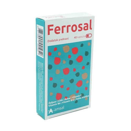 Amsal Ferrosal kapsule 40 kapsula